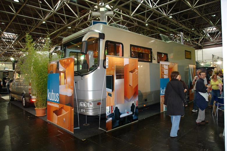 Aktuelles kubus reisemobile auf der caravansalon 2008 for Salon caravaning